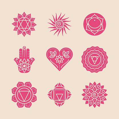 yoga mantras and mandalas