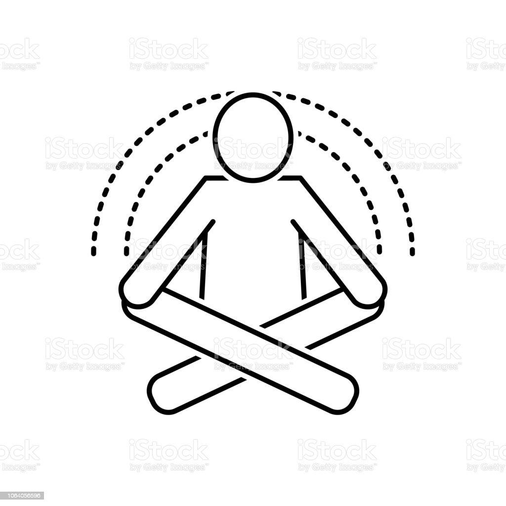 Yoga Meditation Stock Illustration - Download Image Now - iStock