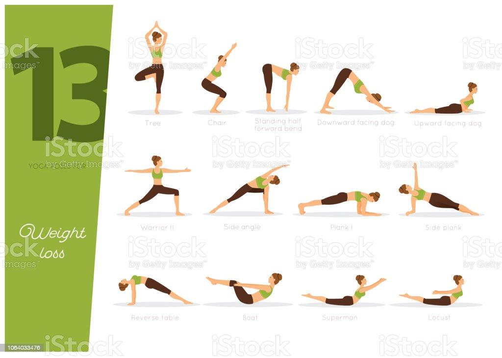 Postura yoga para adelgazar