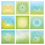 Yoga symbols