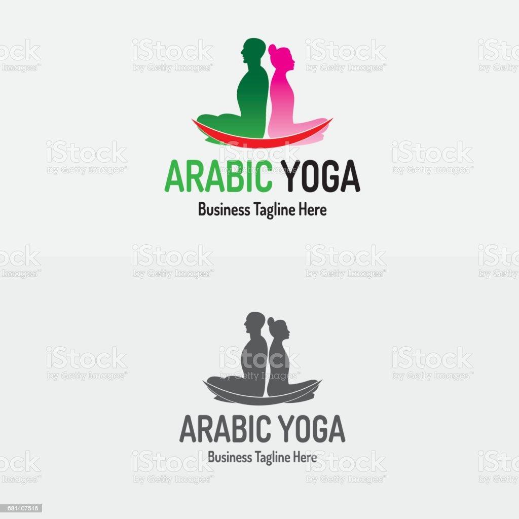 Yoga-Vektor-Design – Vektorgrafik