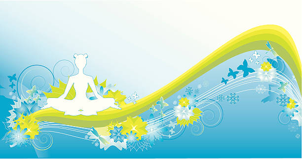 yoga - madurai stock-grafiken, -clipart, -cartoons und -symbole
