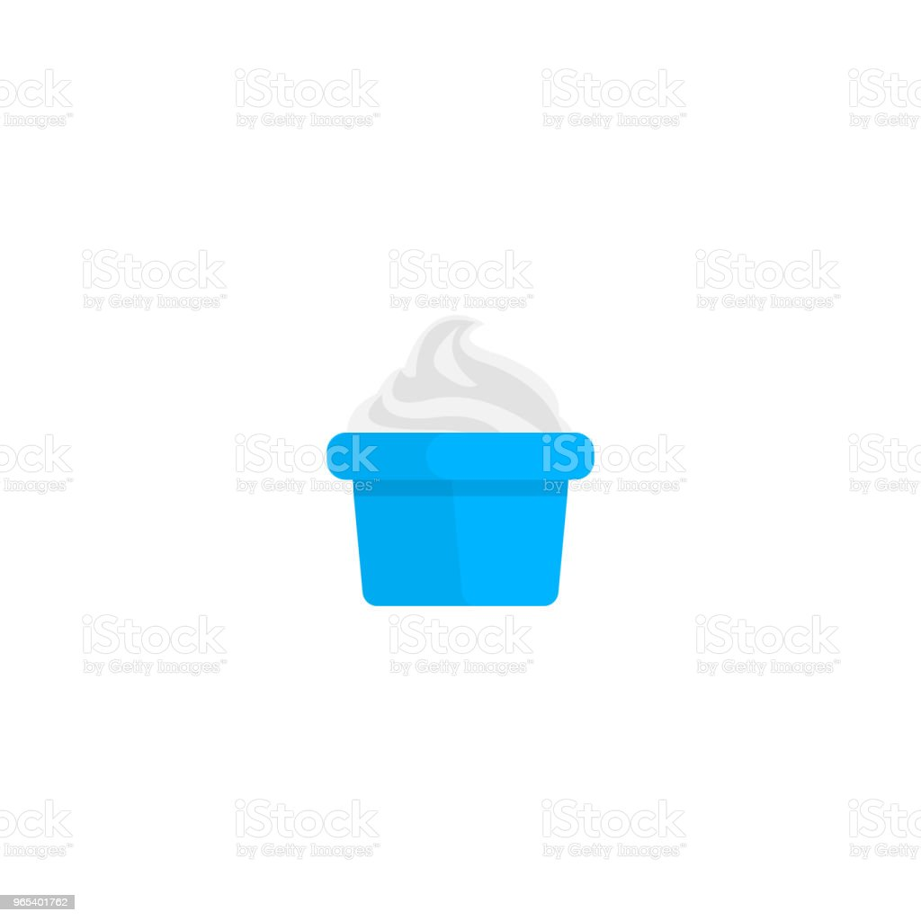 Yogurt in plastic cup isolated on white royalty-free yogurt in plastic cup isolated on white stock vector art & more images of appetizer