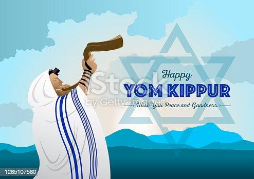 istock Yom Kippur Celebration 1265107560