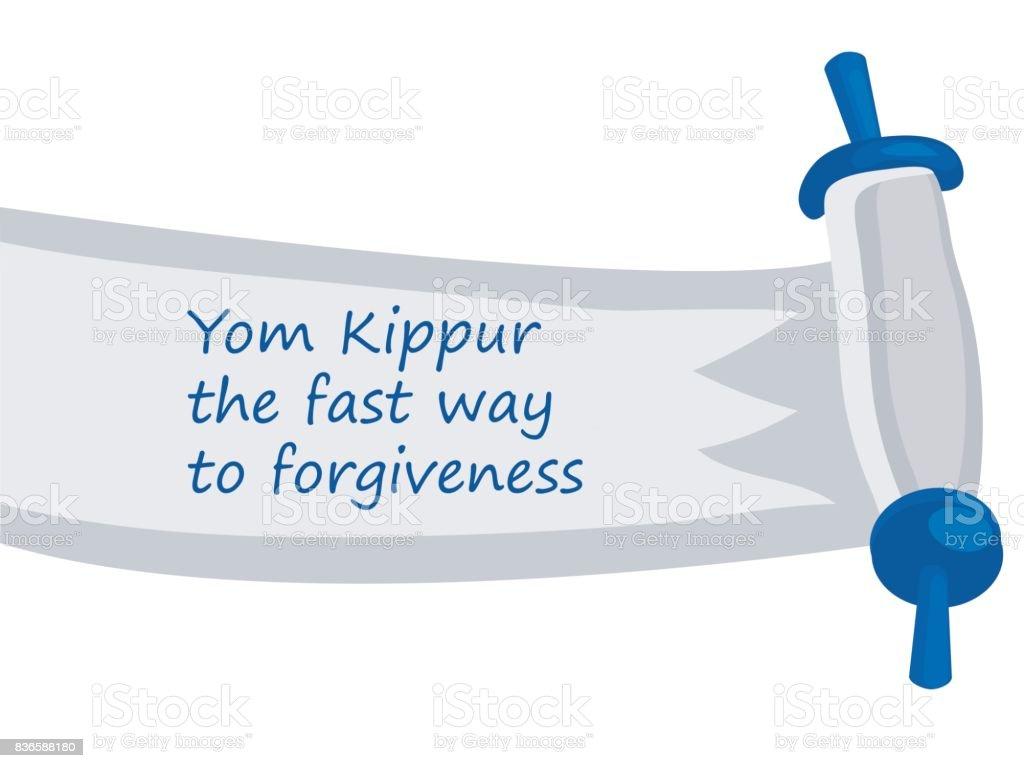 Yom kippur jewish holiday greetings card stock vector art 836588180 yom kippur jewish holiday greetings card royalty free stock vector art m4hsunfo