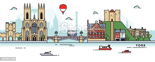 istock York (UK) City Skyline 825522186