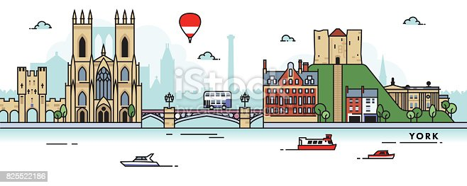 istock York (UK) City Skyline 825522186