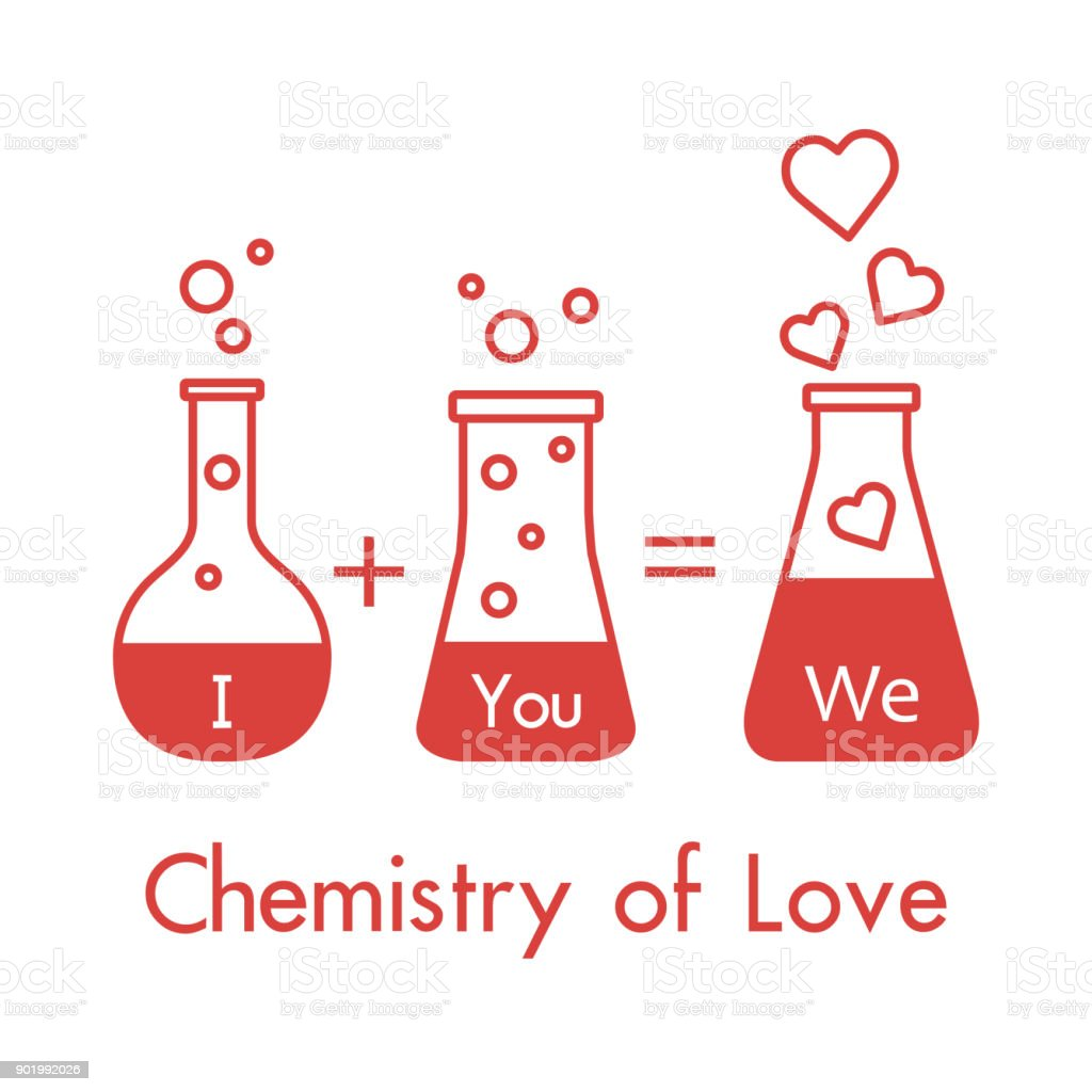 Download You And Me And Our Chemistry Of Love Valentines Stock ...