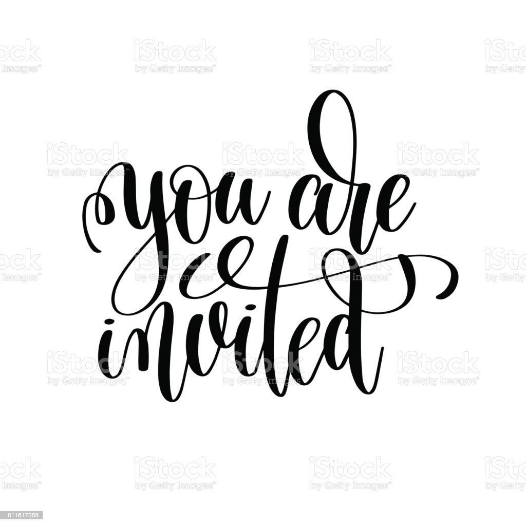royalty free by invitation clip art vector images illustrations rh istockphoto com you're invited clipart you're invited animated clipart