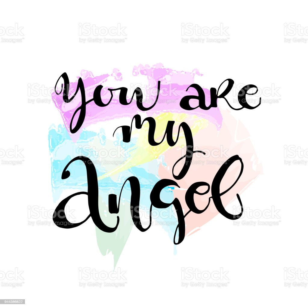 You Are My Angel Stock Vector Art More Images Of Angel 944386822