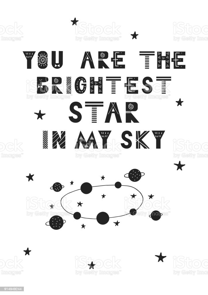 Du Bist Der Hellste Stern In Meinem Himmel