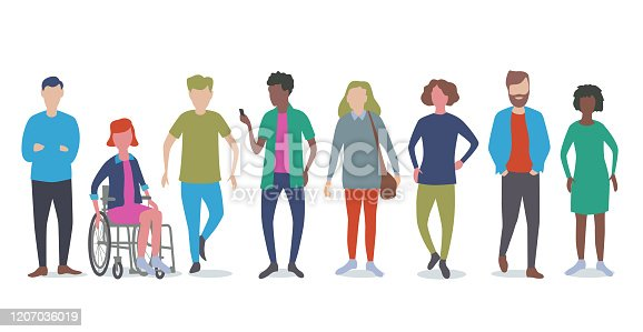 istock Young adults or students 1207036019