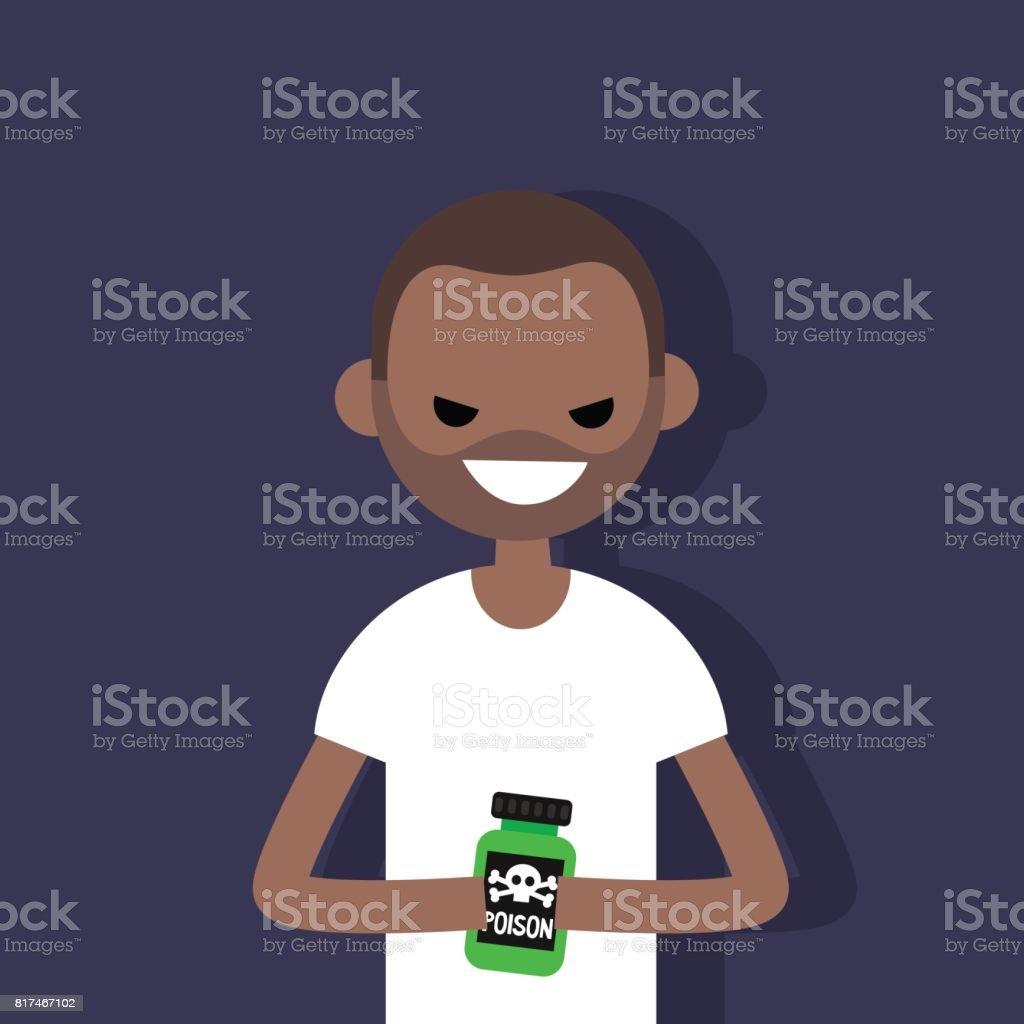 Jonge zwarte spuit
