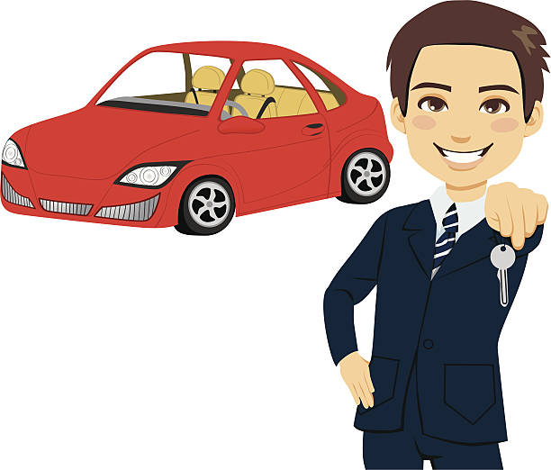 Royalty Free Used Car Salesman Clip Art Vector Images