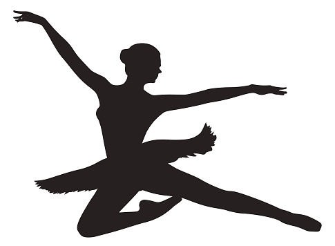 Young ballerina in a tutu.
