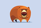 young bear character
