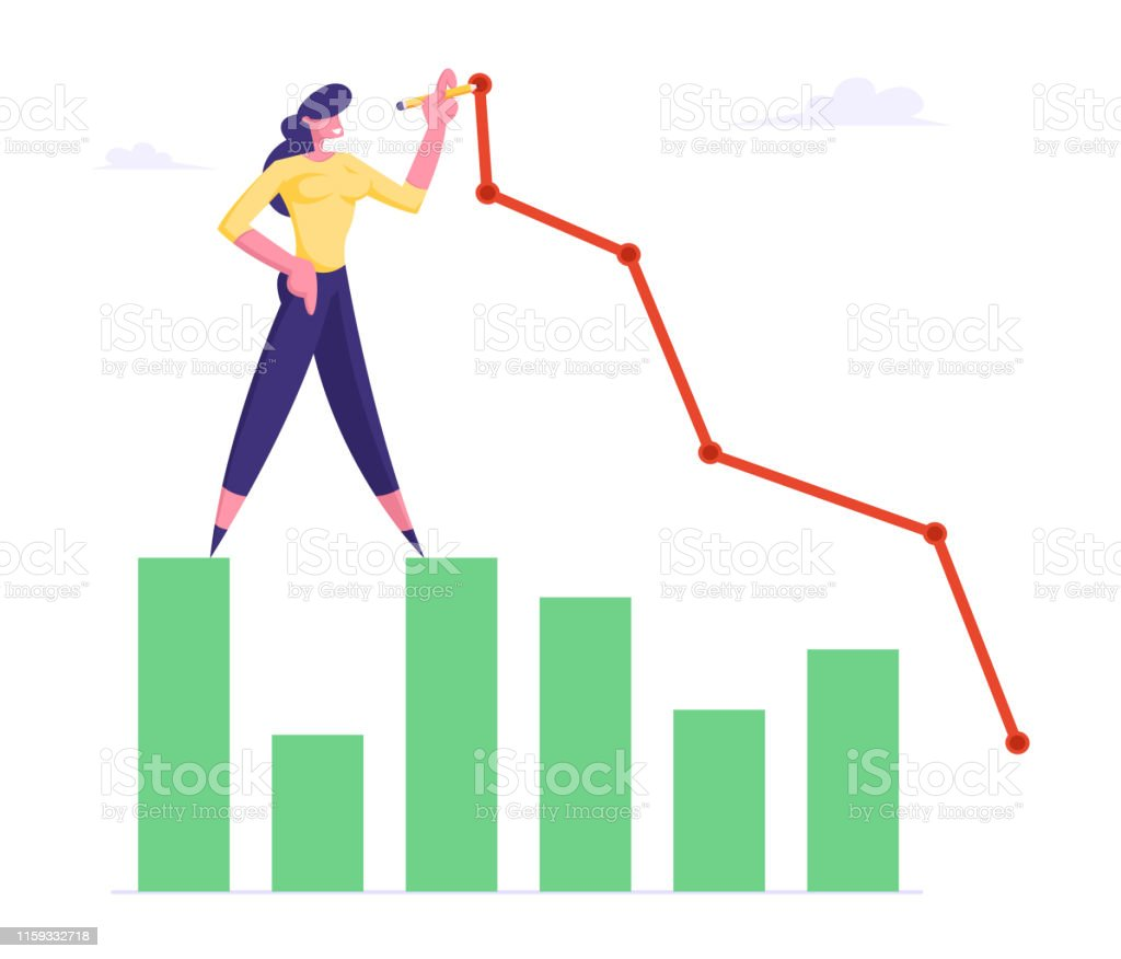 Young Business Woman Stand On Column Chart Drawing Broken Curve Line Businesswoman Working On Growth Data Analysis Arrow Graph Financial Profit Statistic Diagram Cartoon Flat Vector Illustration Stock Illustration Download Image Golden wind i wanted to model something from the show but also was itching to work on another. young business woman stand on column chart drawing broken curve line businesswoman working on growth data analysis arrow graph financial profit statistic diagram cartoon flat vector illustration stock illustration download image