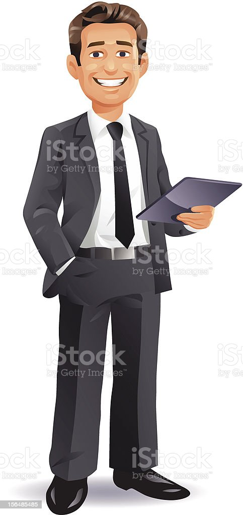 Young Businessman royalty-free young businessman stock vector art & more images of adult