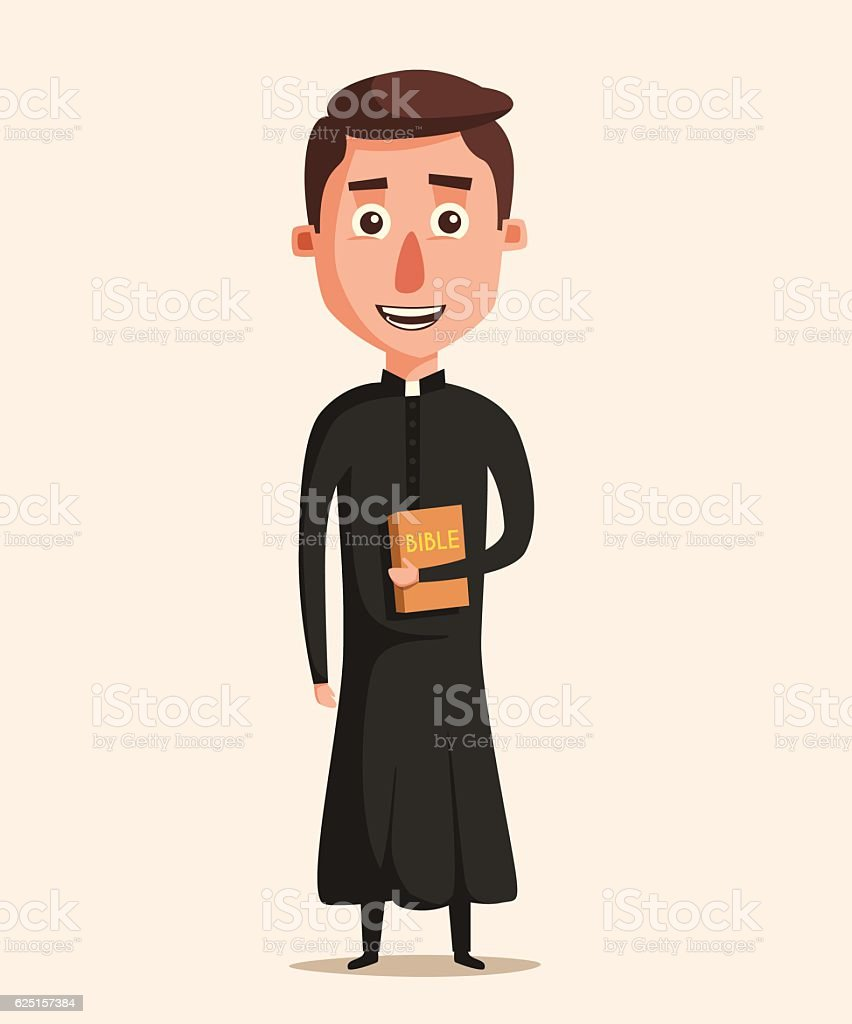 royalty free priest clip art vector images illustrations istock rh istockphoto com priest clipart png priest clip art free