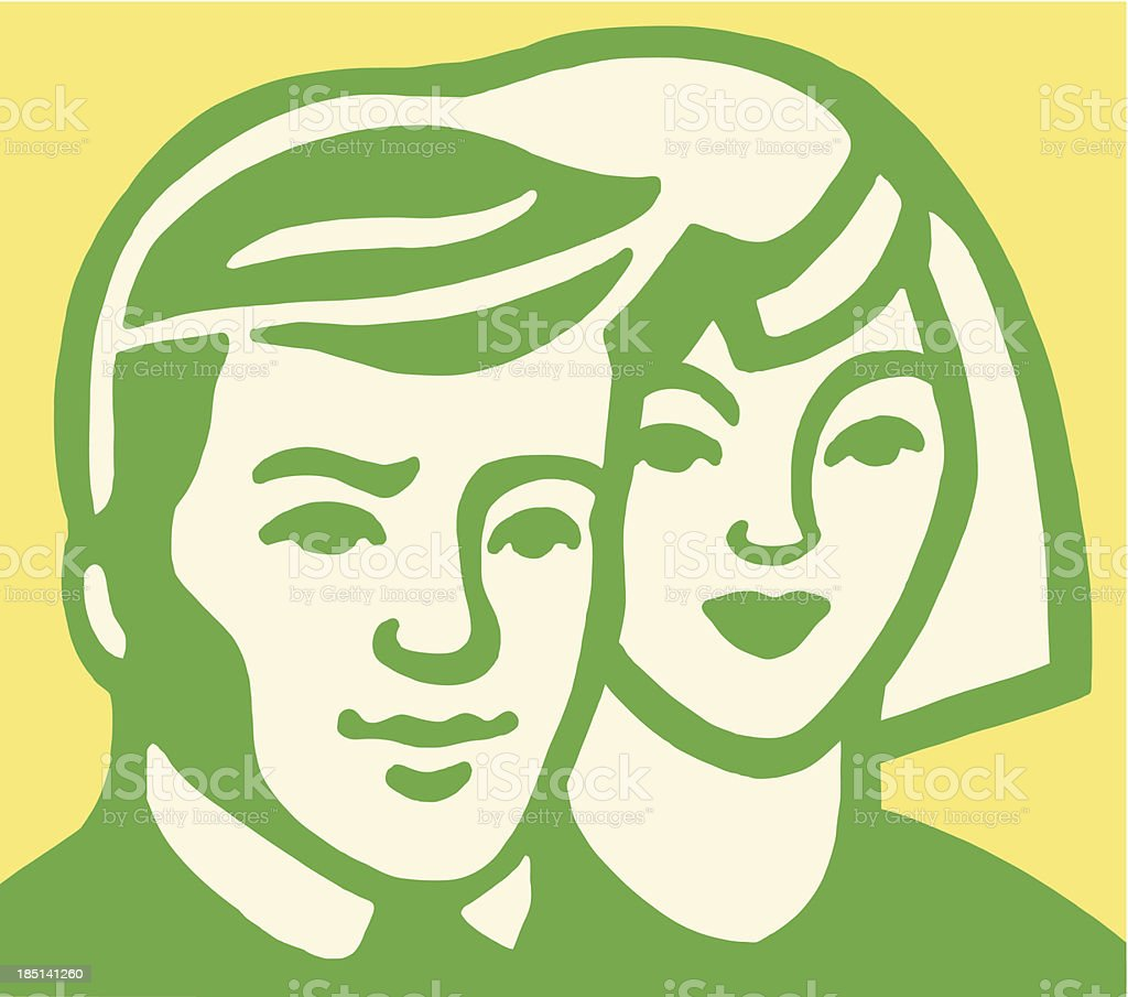 Young Couple royalty-free young couple stock vector art & more images of adult