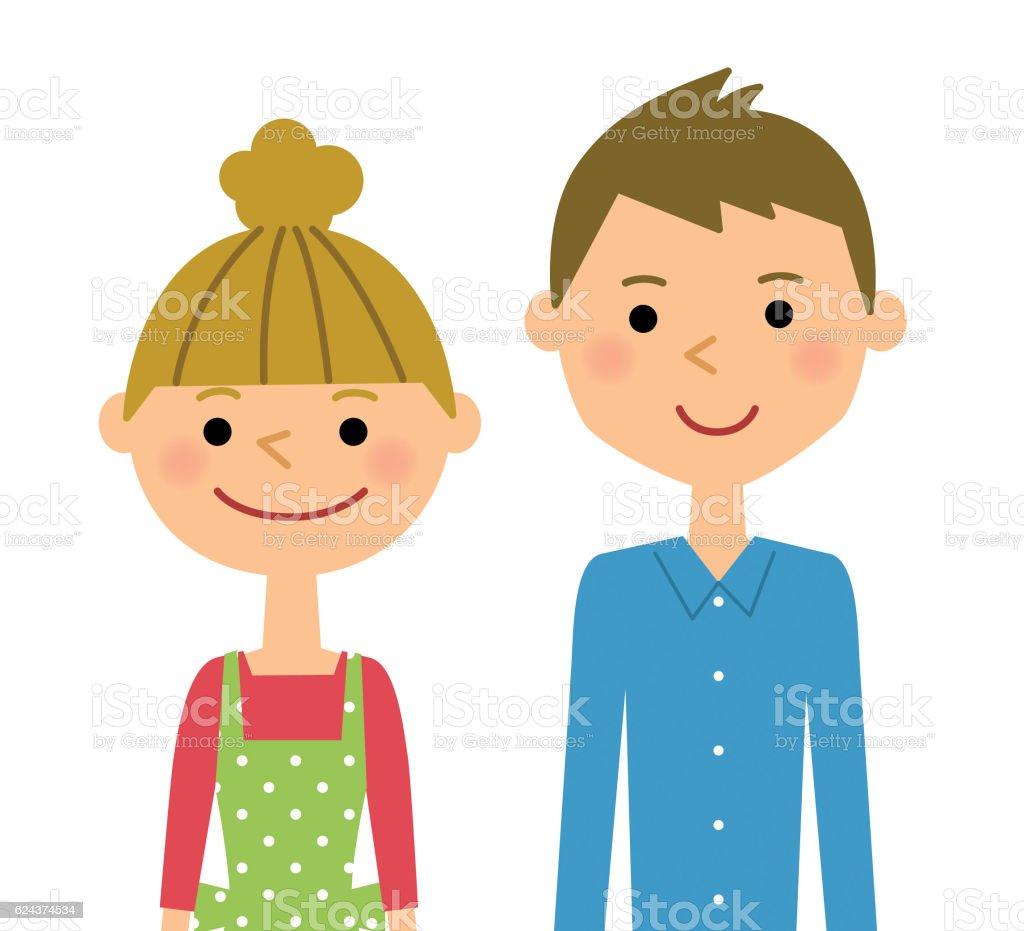 若いカップル のイラスト素材 624374534   istock
