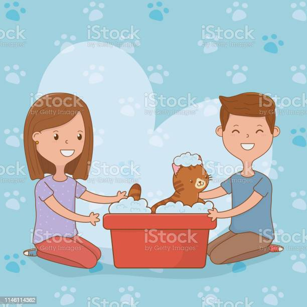 Young couple with cute cat mascot vector id1146114362?b=1&k=6&m=1146114362&s=612x612&h=a3yn24tgv3b4qsv66tyhs yz44jk5qcghcc0vsf4axs=