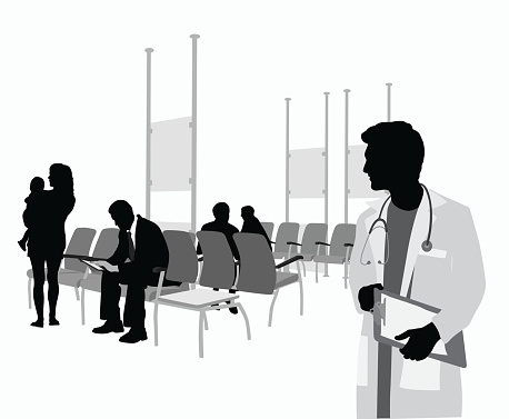 Young Doctor Waiting Room