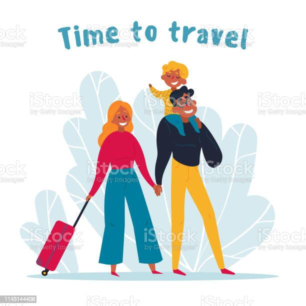 Young family travelling together time to travel vector id1143144406?b=1&k=6&m=1143144406&s=612x612&h=grymlgngz2q7k8uhb5xvtjddlfzgtbe4 e gp6vzr4q=