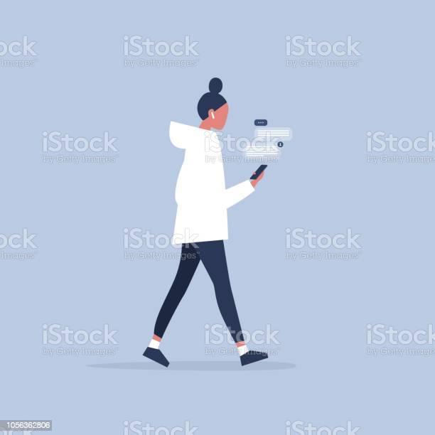 Young female character holding a smartphone new technologies pop up vector id1056362806?b=1&k=6&m=1056362806&s=612x612&h=76n55rhklhkz3zo9l8qjeju4jjgpj1dkbro9 jcexeg=