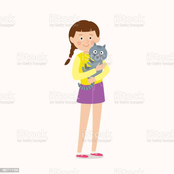 Young female character playing with a cat flat editable cartoon clip vector id982711456?b=1&k=6&m=982711456&s=612x612&h=yqdukyarjy5e5ssm1f8bwsioadqtfrr12ojvjgzhimw=