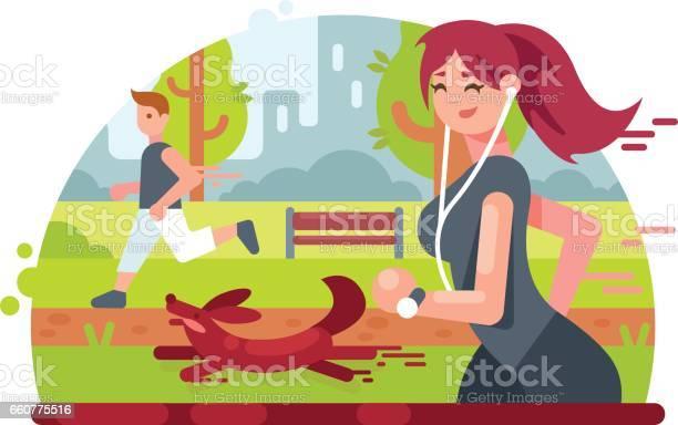 Young girl running in park vector id660775516?b=1&k=6&m=660775516&s=612x612&h=g58r87wwrcxsh15hv7 trsidvp7nuudp1o1covmq4 i=