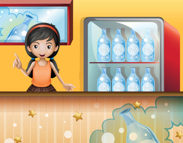 Best Broken Refrigerator Illustrations Royalty Free