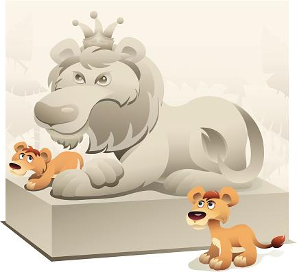Young Lions Dream Stockvectorkunst en meer beelden van Aspiraties