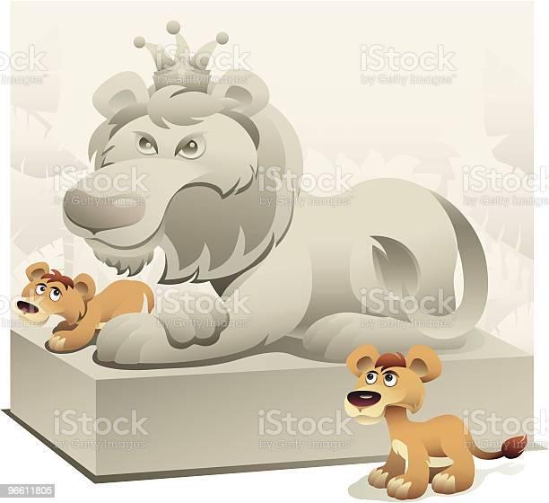 Young Lions Dream-vektorgrafik och fler bilder på Djur