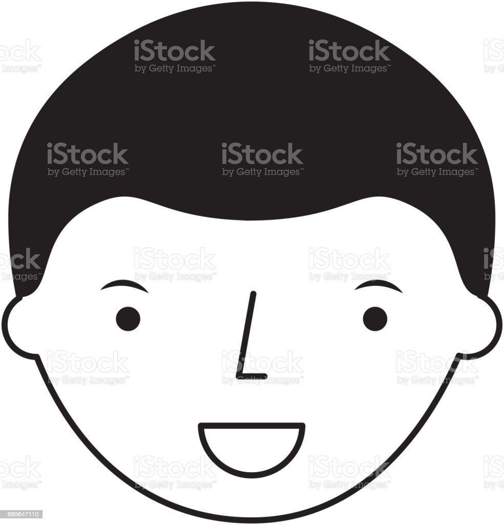 젊은 남자 아바타 캐릭터 royalty-free 젊은 남자 아바타 캐릭터 귀여운에 대한 스톡 벡터 아트 및 기타 이미지