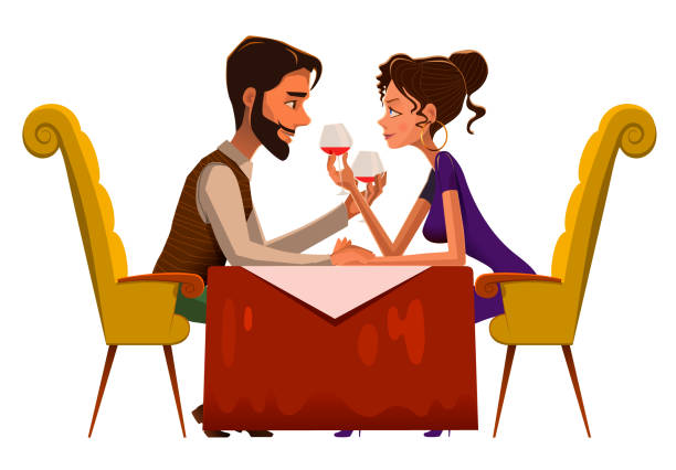 Love Each Other Clip Art: Best Date Night Illustrations, Royalty-Free Vector