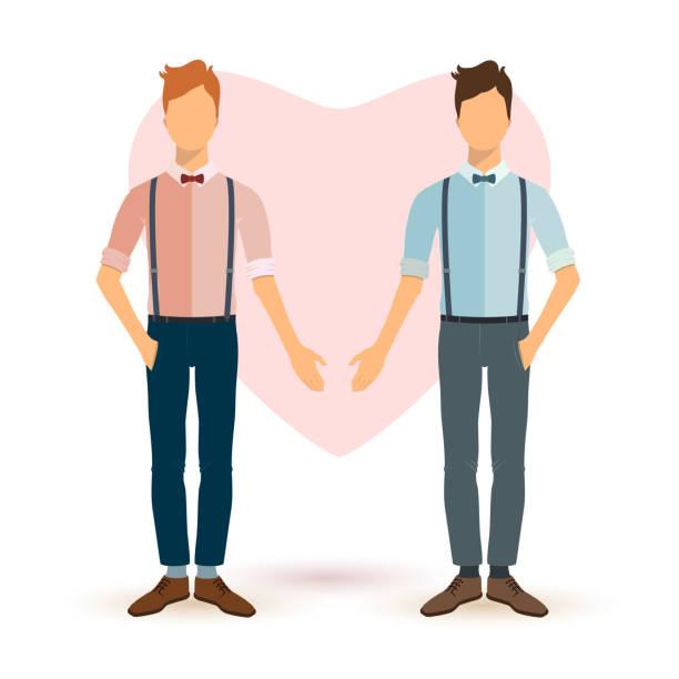 ilustrações, clipart, desenhos animados e ícones de jovens na tv estilo. - casais do mesmo sexo