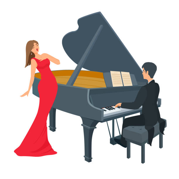 335 Pianist High Res Illustrations - Getty Images
