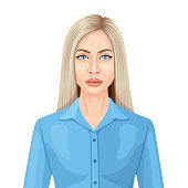 Young Scandinavian Woman