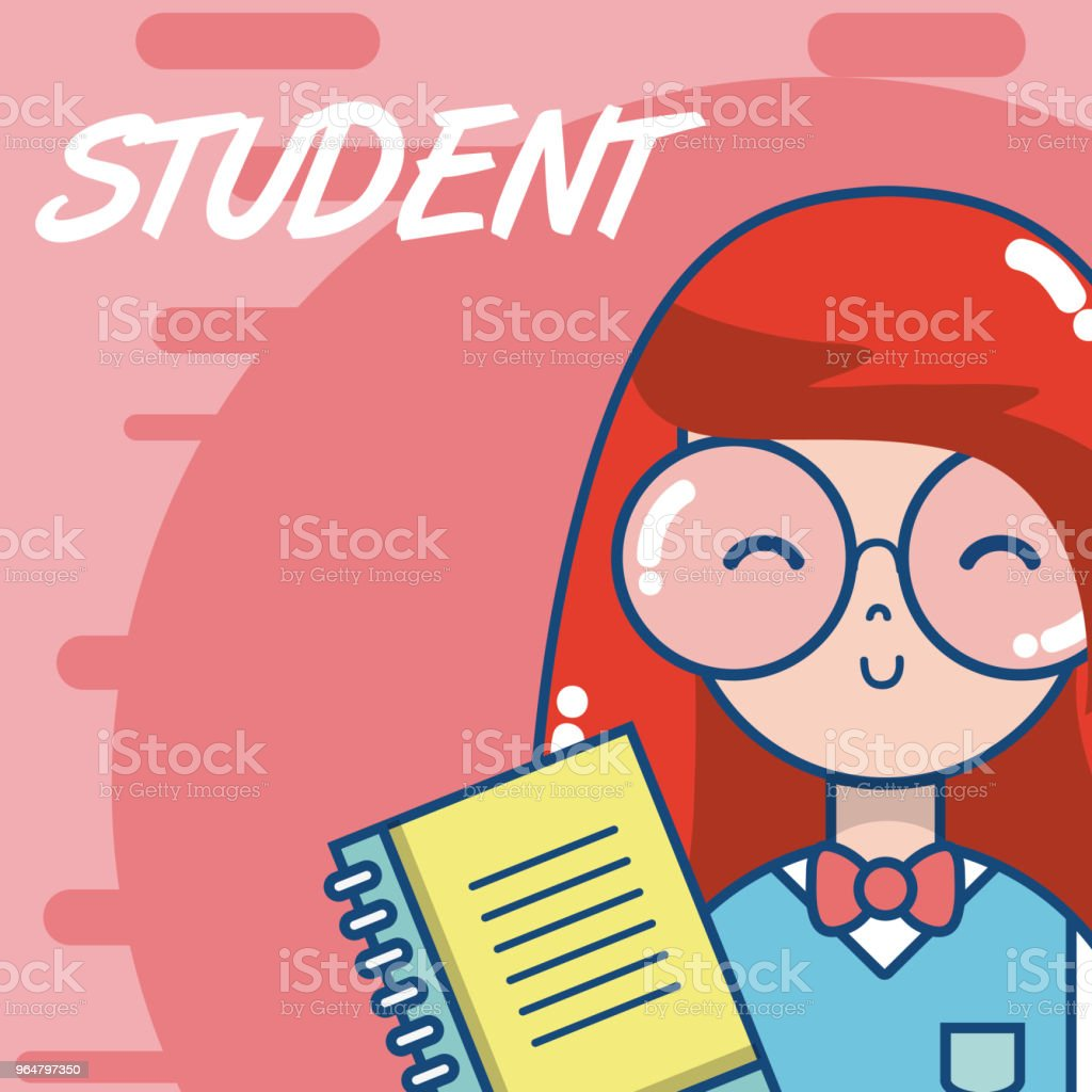 Young school student cartoon royalty-free young school student cartoon stock vector art & more images of adult