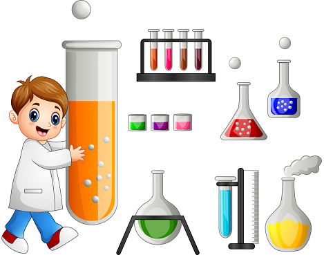 young scientist holding test tube and laboratory equipment vector id824161198?k=6&m=824161198&s=170667a&w=0&h=jMxDB1Wxte3dIkVB
