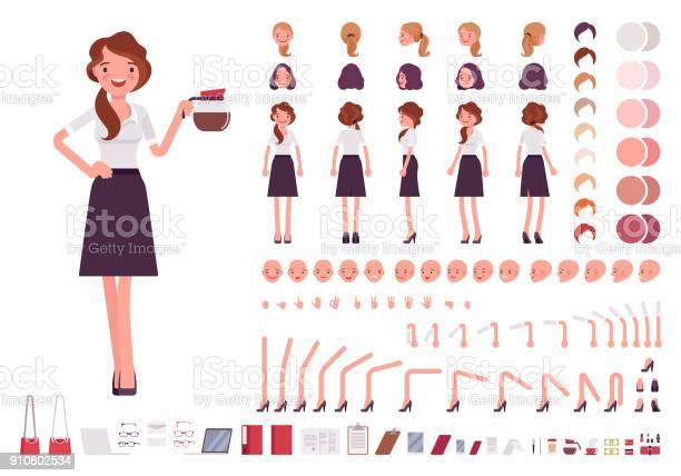 Young secretary character creation set vector id910802534?b=1&k=6&m=910802534&s=612x612&h=wakqgsweaq fc0hpxttlzmemygytyelxvg79ufzfjow=
