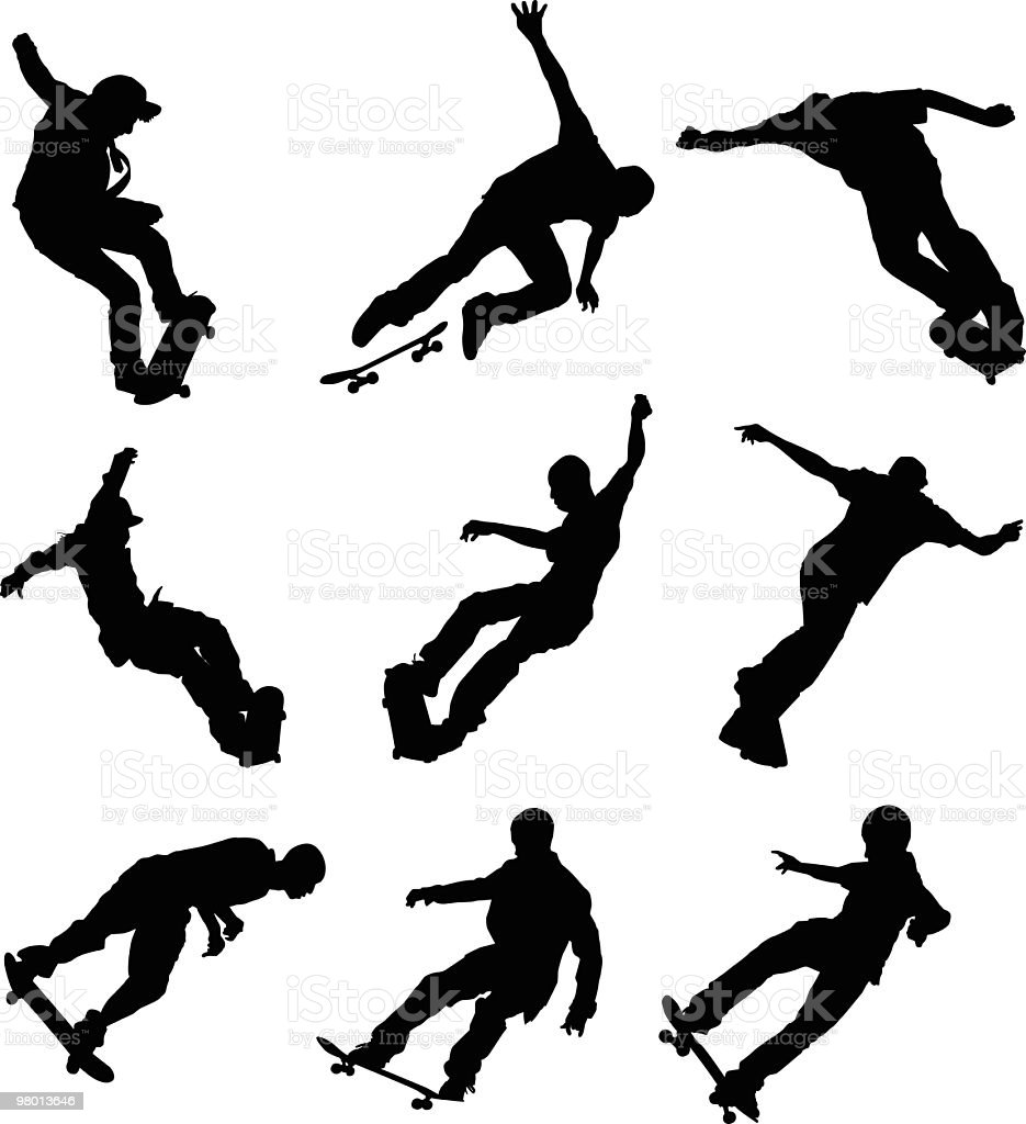 Young sk8ers royalty-free young sk8ers stock vector art & more images of adult