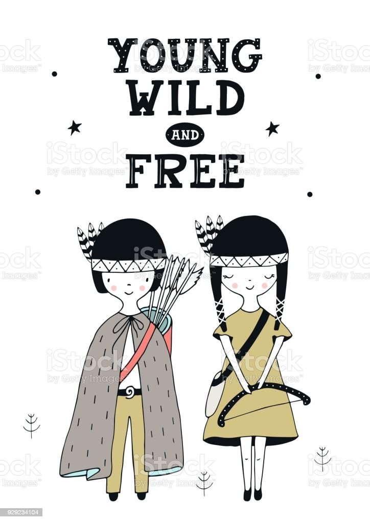 Jung Wild Und Frei