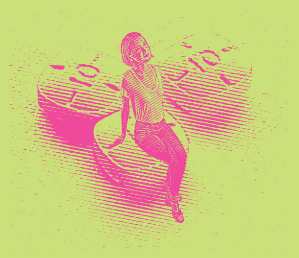 bildbanksillustrationer, clip art samt tecknat material och ikoner med ung kvinna och adderall piller - amphetamine pills