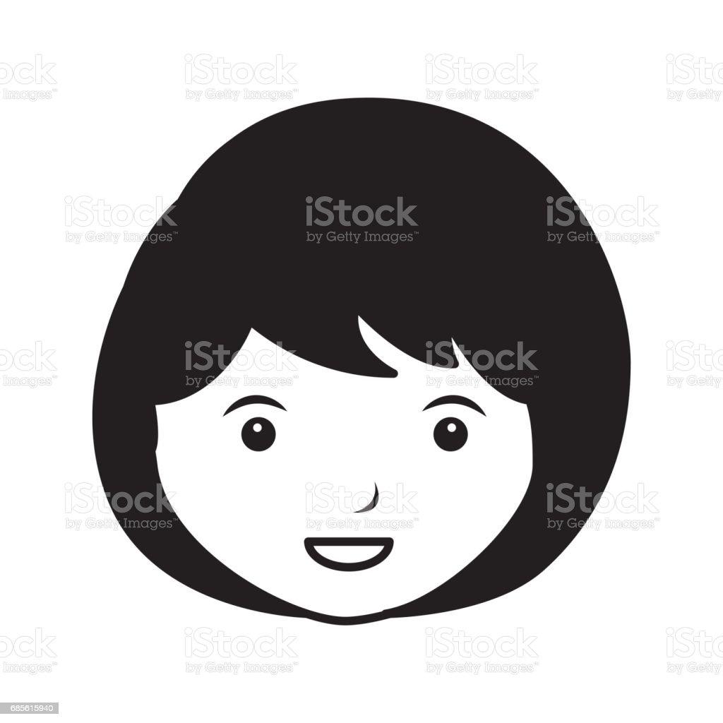 young woman avatar character young woman avatar character - arte vetorial de stock e mais imagens de adulto royalty-free