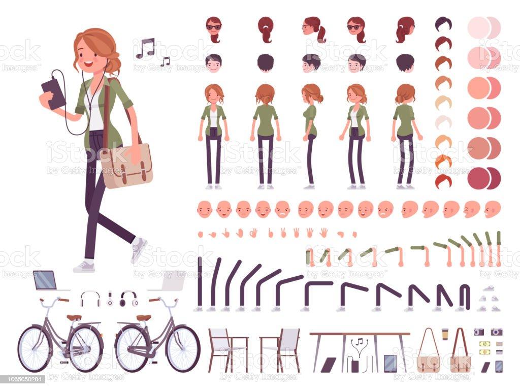 Conjunto creación joven ilustración de conjunto creación joven y más vectores libres de derechos de adulto libre de derechos