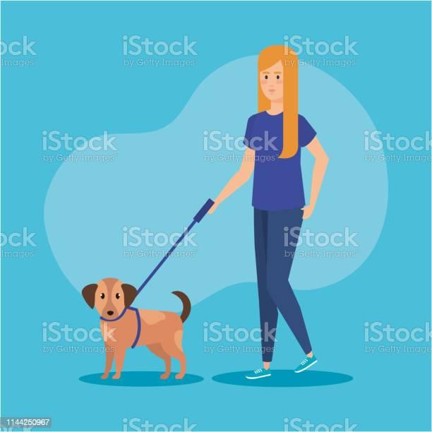 Young woman walking with dog vector id1144250967?b=1&k=6&m=1144250967&s=612x612&h=shb0ot2ryjb9tti6pl0n7radih3a7locad2nfcjmb k=