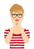 istock Young woman wearing eye glasses 1212982707
