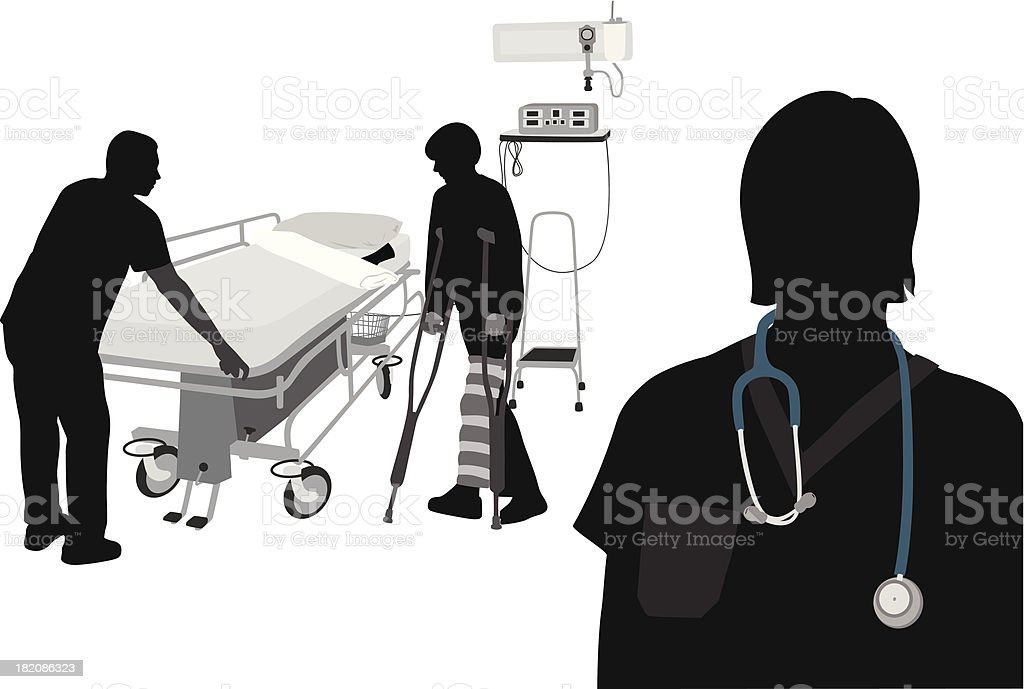 Your Medical Care vector art illustration